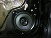 "Aftermarket speaker and speaker adapter bracket   from  <a href=""http://www.car-speaker-adapters.com/items.php?id=SAK036""> Car-Speaker-Adapters.com</a>    installed on door"
