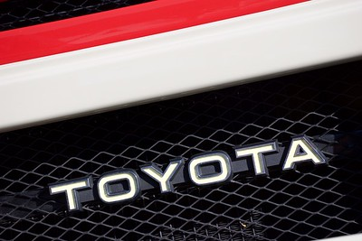 Toyota Land Cruiser Restomod Badge