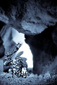 Goblin Shaman at Cave Entrance