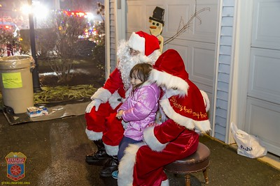 2016 - Toys For Tots Santa Runs 2016