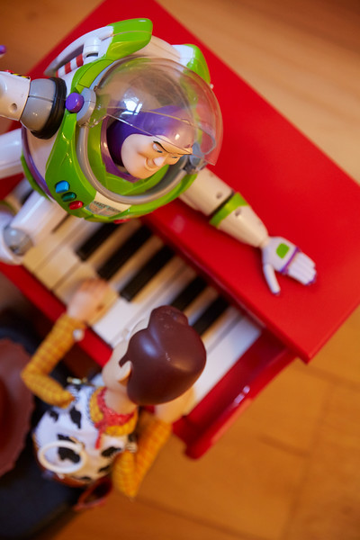 Play it again Woody.