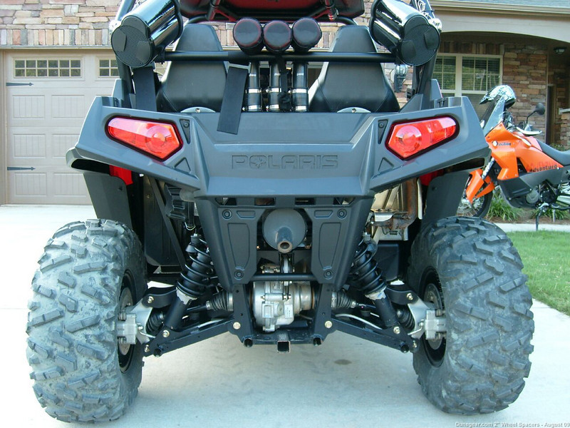 "DuneGear.com 2"" T6061 Billet Wheel Spacer Rear"