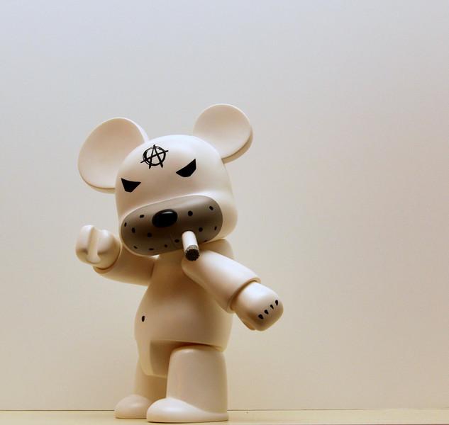 BillyBob Badboy Bear Anarqee (Frank Kozik)