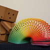 03.01.2010 365 Project Day 60 - Danboard tests out a slinky.