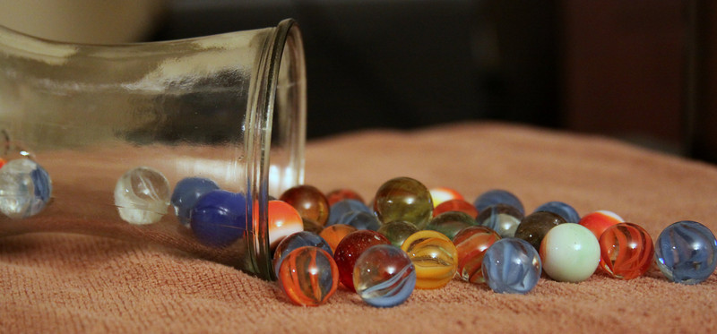 Day 22 (022/365) 365 Project- A few loose marbles...mine?
