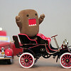 Domo goes missing at the classic car show.  Then I heard my name over the loud speaker. When I went to see what was the problem this is what I found. Day 231 #365Project @sharkbayte (2010.08.19)