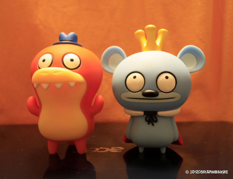 Bossy Bear and Crocadoca were the only early raisers for the 10.10.10 @ 10:10 am GMT WORLD WIDE MOMENT OF PEACE