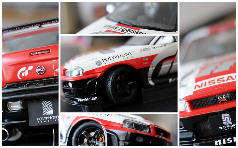 AutoArt Gran Turimo R34