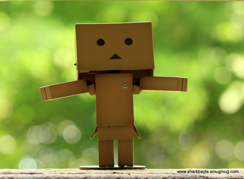 Day 122-Good Morning World!...Danboard  was very excited today as it was just perfect! (2010.05.02) #365Project
