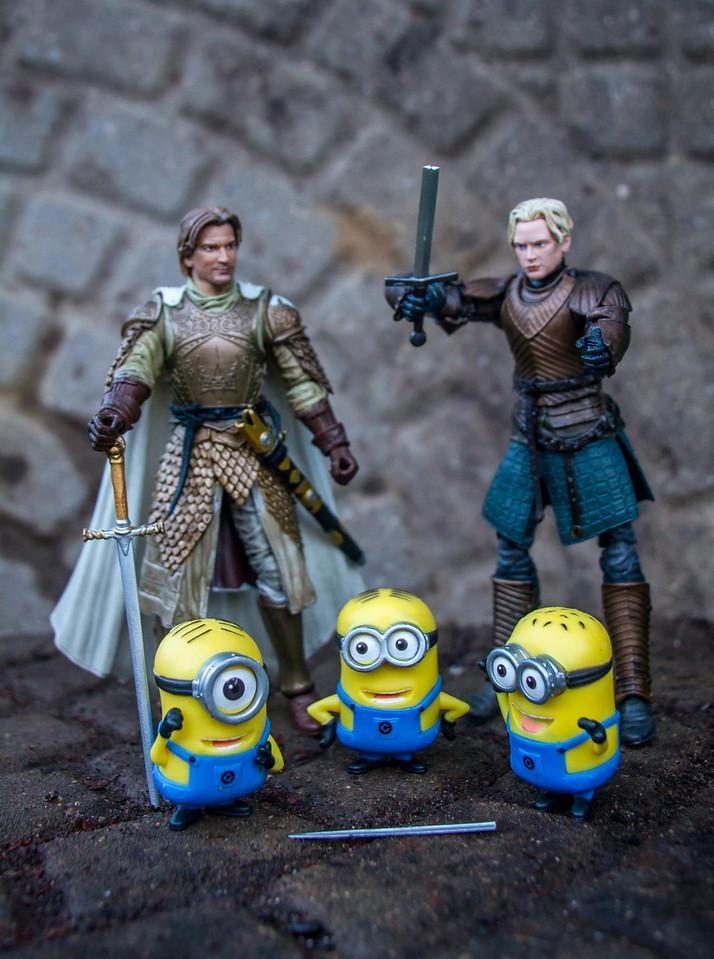 Jaime & Brienne Meet New Foes