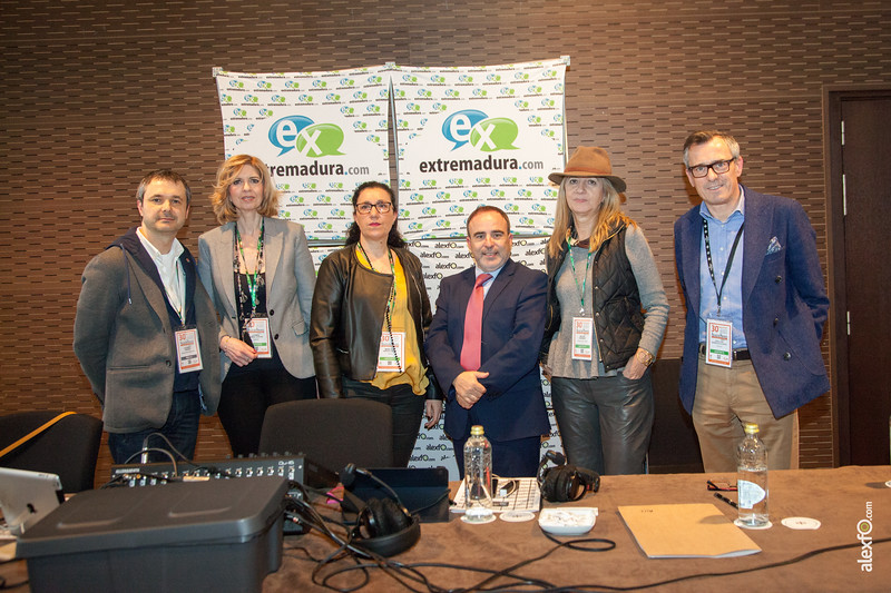 Participantes del Podcast Extremadura es MICE