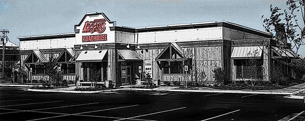 Logan's Roadhouse in San Angelo one week before the grand opening.