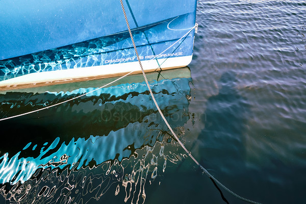 Reflection Of The Sailing Boat II