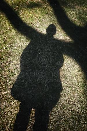 Shadow Next To Jukola House
