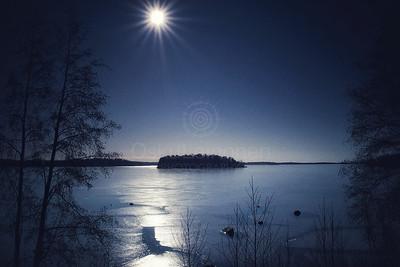 Aurinko Ja Jää Pyhäjärvellä