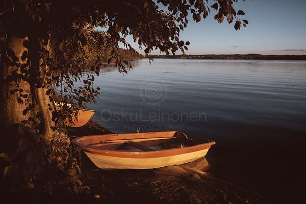 Rowing Boat In The Sunlight II