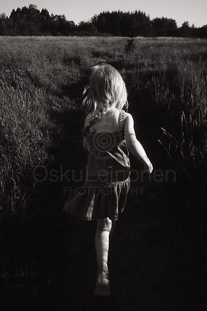 Summer Run IV (Girl And Meadow)