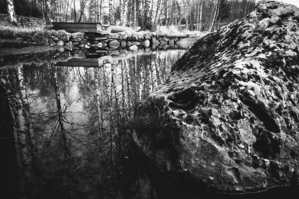 Rock And Boat (Lake)
