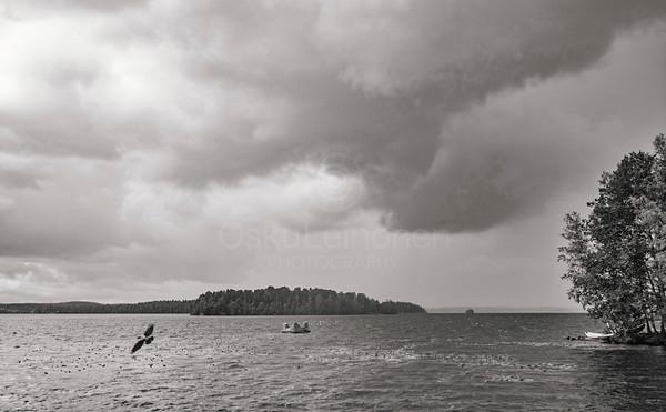 Lake Näsi At Rain III