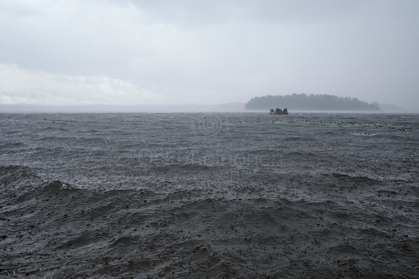 Lake Näsi At Rain II