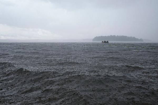 Lake Näsi At Rain II