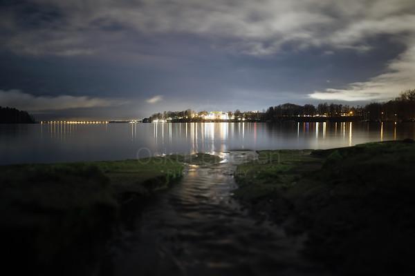 Coastline At Night III (Pispala)