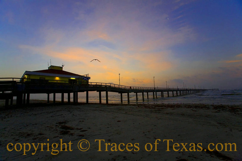 Title:   Pierless in Port Aransas <br /> <br /> Comments: Some moments on the beach are transcendent.<br /> <br /> Location: Port Aransas