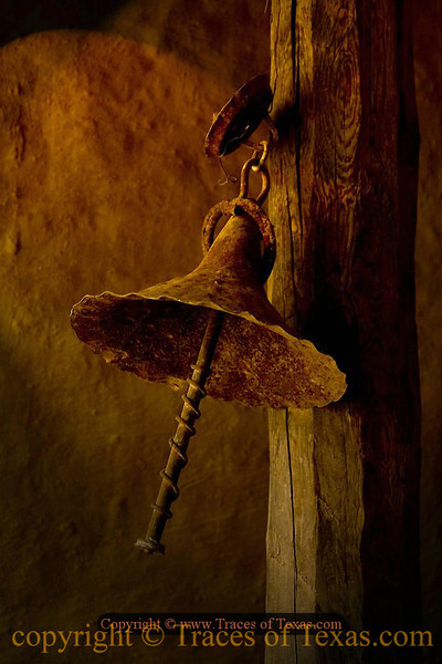 Title:   Well How do YOU Call the Cowboys To Dinner?<br /> <br /> Comments: Grandma's ancient dinner bell on the ranch.<br /> <br /> Location: Del Rio