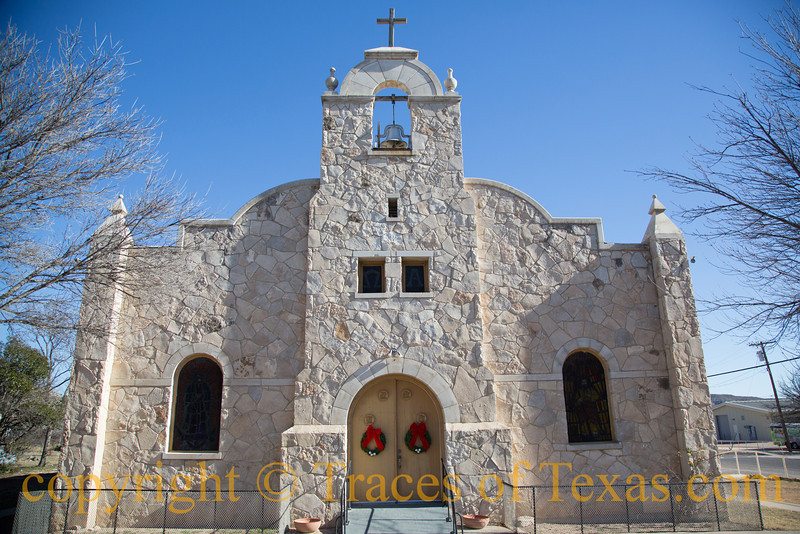 Title: Song for St. James<br /> <br /> Comments: The St. James Catholic Church in Sanderson was built in <br /> <br /> Location: Sanderson