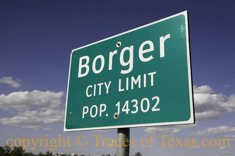 Title:   Borger City Limits<br /> <br /> Comments: <br /> <br /> Location: Borger, Texas
