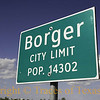 Title:   Borger City Limits<br /> <br /> Comments: <br /> <br /> Location: Borger, Texas
