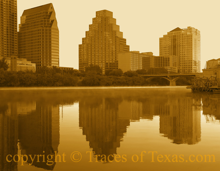 Title:   Time in a Bottle<br /> <br /> Comments:  I printed this image out on a huge piece of canvas and sold it to the Vince Young Steakhouse in downtown Austin, using this sepia tone to match the photos that they already had on their walls. I have to say that, on canvas, it looked pretty snazzy.<br /> <br /> Location:  Austin