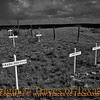 Title:   Ominous: adj portending evil or harm; foreboding; threatening; <br /> <br /> Comments: Storm clouds rolling in over the old Boot Hill Cemetery near Old Tuscosa. <br /> <br /> Location: Old Tuscosa, Texas