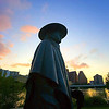 Title:   Sunrise on Stevie <br /> <br /> Comments: I am blessed to be able to say that I saw him live on many occasions, including for free several times before he started getting famous. <br /> <br /> Location: Austin