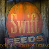<br>Title: Fast Feed  Comments: Nothing like discovering an old barn sign. I photograph each one that I find.  Location: Luckenbach
