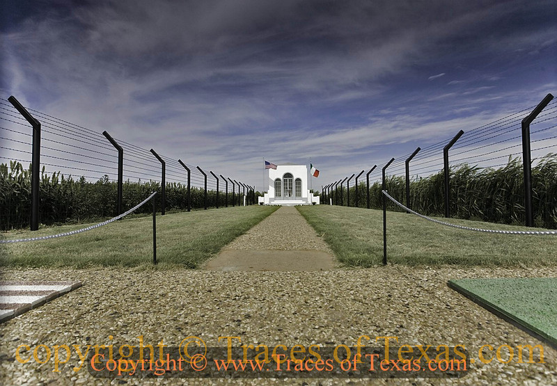 Title: Just a Plain and Simple Chapel<br /> <br /> Comments: This is a chapel built by Italian prisoners of War during World War II. It stands nowadays in the middle of a big field a few miles from Hereford, but 65 years ago it lay at the heart of a POW camp that housed almost 4,000 Italian prisoners. Some were skilled Italian artisans who built this simple chapel as a memorial to fallen comrades. It is well maintained and stands as a lasting reminder that sworn enemies can become friends.<br /> <br /> Location: Hereford, Texas