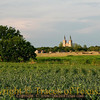 Title:   Salvation Cornfield <br /> <br /> Comments: The Holy Trinity Catholic Church is one of my favorites. It can be seen from a distance of several miles.<br /> <br /> Location:  Corn Hill