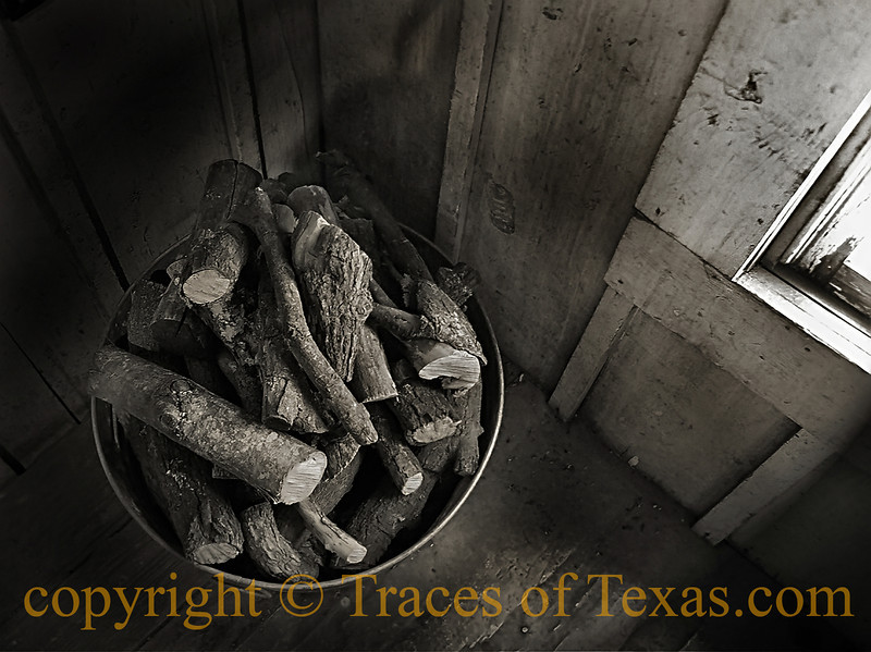 Title: I Believe it's Your Turn to Feed the Stove<br /> <br /> Comments: A lot of folks don't think it gets cold in Texas. It does. I've spent many a  night in a drafty house, wrapped in a  cocoon of many blankets, wishing that somebody else would get up and put some wood in the stove. <br /> <br /> Location: Utopia