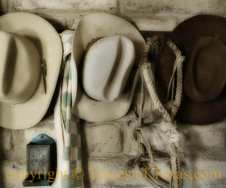 Title: Another Way of Looking at Three Cowboys<br /> <br /> Comments:<br /> <br /> Location: Brackettville