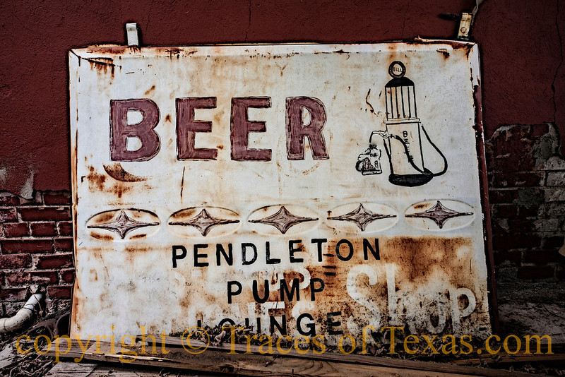 Title: Livin' Life by the Drop<br /> <br /> Comments:  The Pendleton Pump has been slaking thirsts in that little berg for decades and still keeps right on truckin'. <br /> <br /> Location: Pendleton