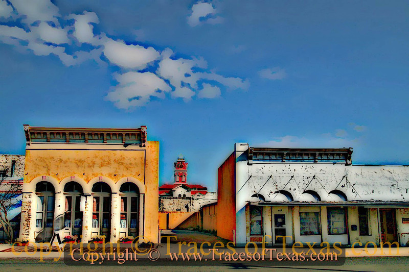 Title:   Lampasas: What Happens Here ... oh, heck ....nothing ever happens here<br /> <br /> Comments: This is how I envision my Lampasas postcard will look. <br /> <br /> Location: Lampasas