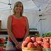 <br>Title:  The Peach Lady  Comments: The Peach Gods have blessed me on many journeys through the Hill Country, but never so much as when I stopped by Studebaker Farm in Blumenthal. Blackberries? A cosmic revelation. And the peach lady is as nice as can be.   Location: Blumenthal
