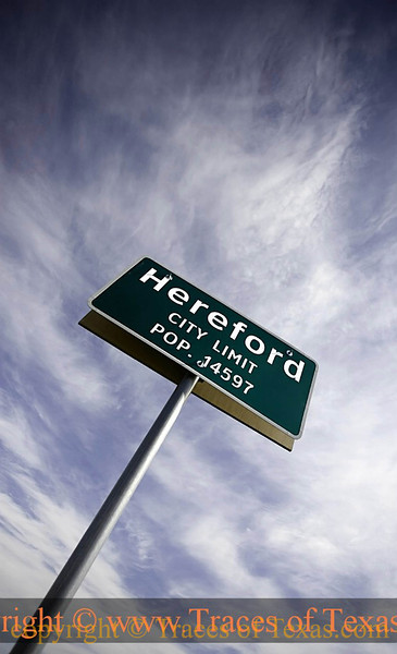 Title:   Hereford City Limits <br /> <br /> Comments: <br /> <br /> Location: Hereford, Texas