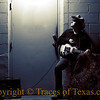 """Title:  Song for 13 Winds<br /> <br /> Comments: In an alleyway in downtown Austin, this old blues picker was taking a break. He told me that the song he had just finished playing was """"Mozart's Serenade for 13 Winds,  but in a minor blues key instead of B flat major."""" ...<br /> <br /> OOOOOOH-Kay. <br /> <br /> Location: Austin"""