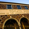 Title:   The Legendary Tomato Bowl <br /> <br /> Comments: Built by WPA workers out of native iron ore rock in 1940, the Tomato Bowl still stands as a monument of a town's love affair with football. <br /> <br /> Location: Jacksonville