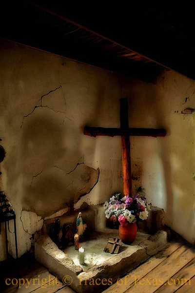 Title: The Fundamental Things Apply   <br /> <br /> Comments: The tiny chapel in Ruidosa, west of Presidio, is one of the most unassuming places of worship in Texas. <br /> <br /> Location: Ruidosa
