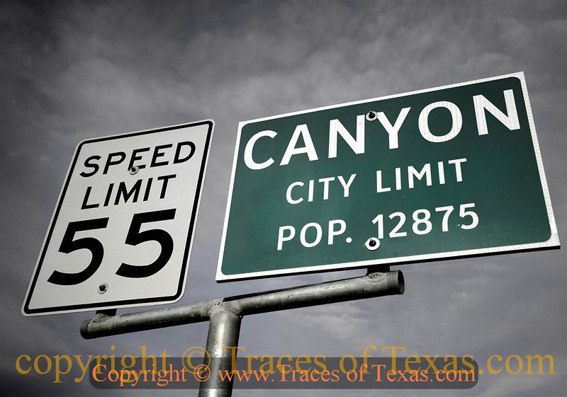 Title:   Canyon City Limits <br /> <br /> Comments: <br /> <br /> Location: Canyon City, Texas