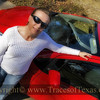 Title:   Her New Car<br /> <br /> Comments:  She looks so stylin' with those cool shades!<br /> <br /> Location: Austin, Texas
