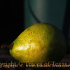 Title:   Still life in wet pear<br /> <br /> Comments: <br /> <br /> Location: