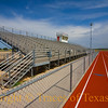 Title:  A Shrine of Sorts<br /> <br /> Comments: This is the small high school football stadium at which Colt McCoy played before going to the University of Texas. I hear some Longhorn fans want to have the whole thing bronzed.<br /> <br /> Location:  Tuscola